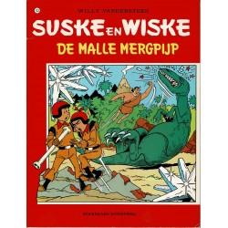 Suske en Wiske - 143 De malle mergpijp - herdruk - rode reeks