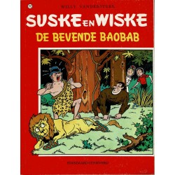 Suske en Wiske - 152 De bevende Baobab - herdruk - rode reeks
