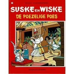 Suske en Wiske - 155 De poezelige poes - herdruk - rode reeks