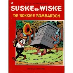 Suske en Wiske - 160 De bokkige bombardon - herdruk - rode reeks