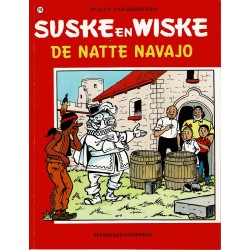 Suske en Wiske - 196 De natte Navajo - herdruk - rode reeks