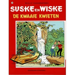 Suske en Wiske - 209 De kwaaie kwieten - herdruk - rode reeks