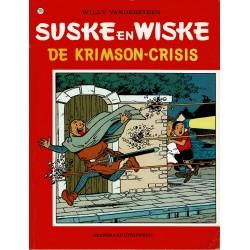 Suske en Wiske - 215 De Krimson-crisis - herdruk - rode reeks