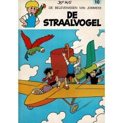 Jommeke - 010 De straalvogel - herdruk - oranje cover