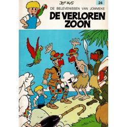 Jommeke - 024 De verloren zoon - herdruk - oranje cover