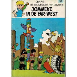 Jommeke - 030 Jommeke in de Far West - herdruk - oranje cover