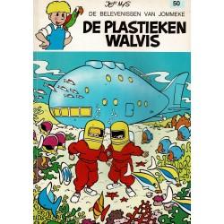 Jommeke - 050 De plastieken walvis - herdruk - oranje cover