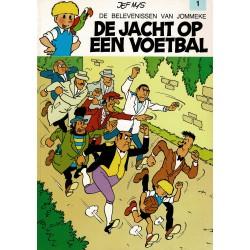 Jommeke - 001 De jacht op een voetbal - herdruk - witte cover