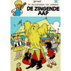 Jommeke - 002 De zingende aap - herdruk - witte cover