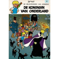 Jommeke - 003 De koningin van Onderland - herdruk - witte cover