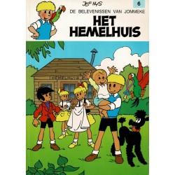 Jommeke - 006 Het hemelhuis - herdruk - witte cover