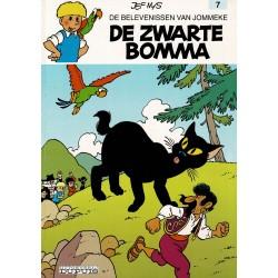 Jommeke - 007 De zwarte bomma - herdruk - witte cover