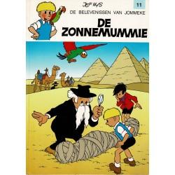 Jommeke - 011 De zonnemummie - herdruk - witte cover
