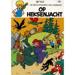 Jommeke - 014 Op heksenjacht - herdruk - witte cover