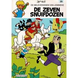 Jommeke - 025 De zeven snuifdozen - herdruk - witte cover