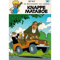 Jommeke - 031 Knappe Mataboe - herdruk - witte cover