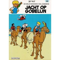 Jommeke - 033 Jacht op Gobelijn - herdruk - witte cover