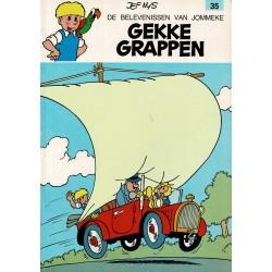 Jommeke - 035 Gekke grappen - herdruk - witte cover