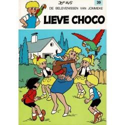 Jommeke - 039 Lieve Choco - herdruk - witte cover
