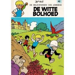 Jommeke - 042 De witte bolhoed - herdruk - witte cover