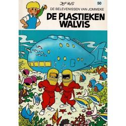 Jommeke - 050 De plastieken walvis - herdruk - witte cover