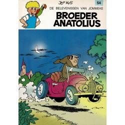 Jommeke - 054 Broeder Anatolius - herdruk - witte cover