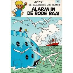 Jommeke - 060 Alarm in de rode baai - herdruk - witte cover