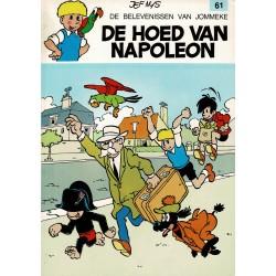 Jommeke - 061 De hoed van Napoleon - herdruk - witte cover