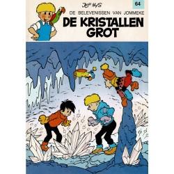Jommeke - 064 De kristallen grot - herdruk - witte cover
