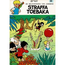 Jommeke - 069 Straffa Toebaka - herdruk - witte cover