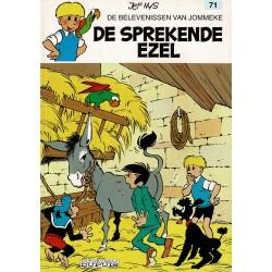 Jommeke - 071 De sprekende ezel - herdruk - witte cover