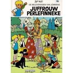 Jommeke - 078 Juffrouw Perlefinneke - herdruk - witte cover