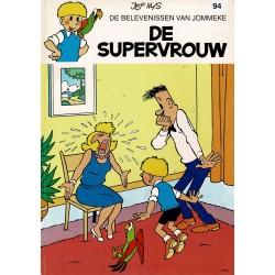 Jommeke - 094 De supervrouw - herdruk - witte cover