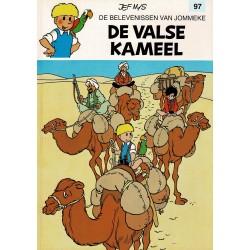 Jommeke - 097 De valse kameel - herdruk - witte cover