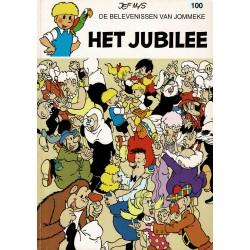 Jommeke - 100 Het jubilee - herdruk - witte cover