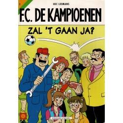 F.C. De Kampioenen - 001 Zal 't gaan, ja? - herdruk - Standaard Uitgeverij