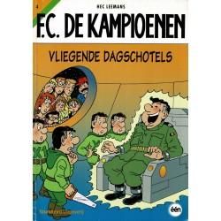 F.C. De Kampioenen - 004 Vliegende dagschotels - herdruk - Standaard Uitgeverij