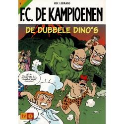 F.C. De Kampioenen - 006 De dubbele dino's - herdruk - Standaard Uitgeverij