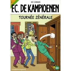 F.C. De Kampioenen - 009 Tournée zénérale - herdruk - Standaard Uitgeverij