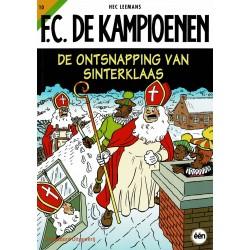 F.C. De Kampioenen - 010 De ontsnapping van Sinterklaas - herdruk - Standaard Uitgeverij