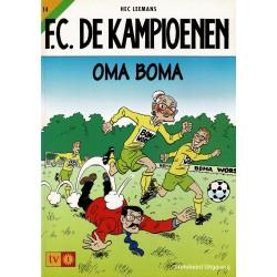 F.C. De Kampioenen - 014 Oma Boma - herdruk - Standaard Uitgeverij