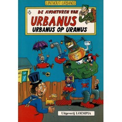 Urbanus - 004 Urbanus op Uranus - herdruk - Uitgeverij Loempia, in kleur