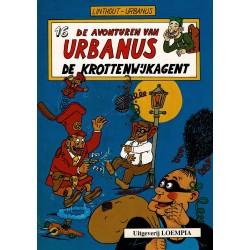 Urbanus - 016 De krottenwijkagent - herdruk - Uitgeverij Loempia, in kleur