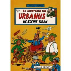 Urbanus - 017 De kleine tiran - herdruk - Uitgeverij Loempia, in kleur