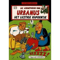 Urbanus - 018 Het lustige kapoentje - herdruk - Uitgeverij Loempia, in kleur