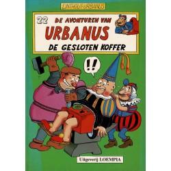 Urbanus - 022 De gesloten koffer - herdruk - Uitgeverij Loempia, in kleur