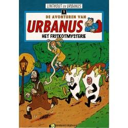 Urbanus - 001 Het fritkotmysterie - herdruk - Standaard Uitgeverij
