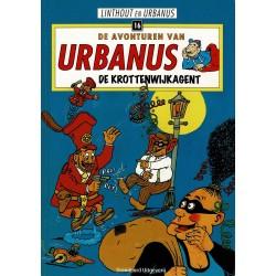 Urbanus - 016 De krottenwijkagent - herdruk - Standaard Uitgeverij