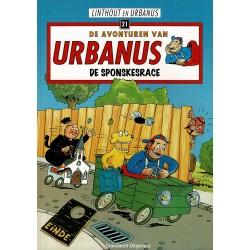 Urbanus - 021 De sponskesrace - herdruk - Standaard Uitgeverij