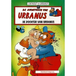 Urbanus - 041 De dochter van Urbanus - herdruk - Standaard Uitgeverij